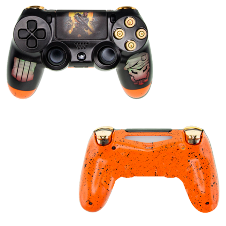 Mando PS4 Personalizado Call Of Duty BLACK OPS 4 - V2 LED