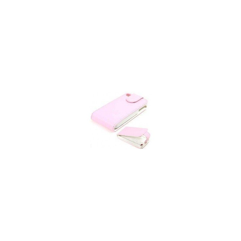 Funda de piel iPhone 4G /4s ( Rosa )