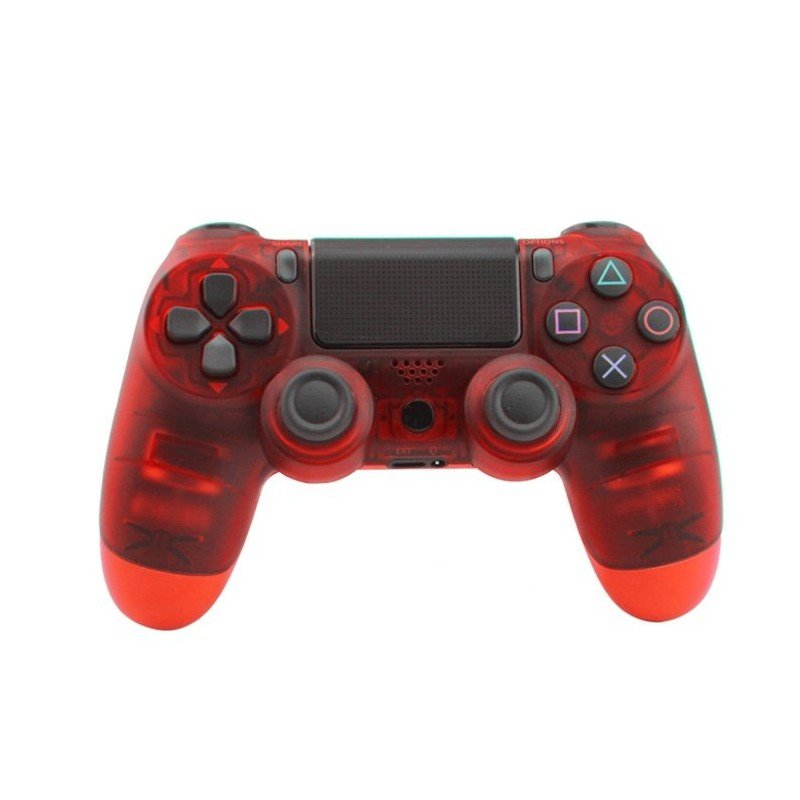 Mando PS4 ROJO V2 - COMPATIBLE