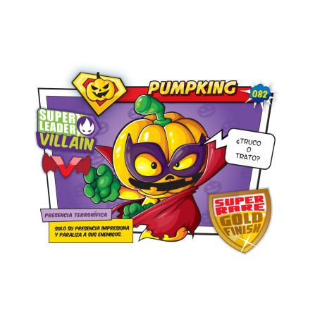 PUMPKING SuperZings Figura - CALABAZA