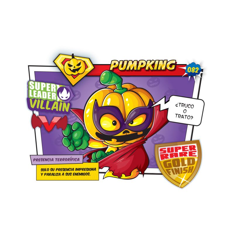 Figura SuperZings - Pumpking