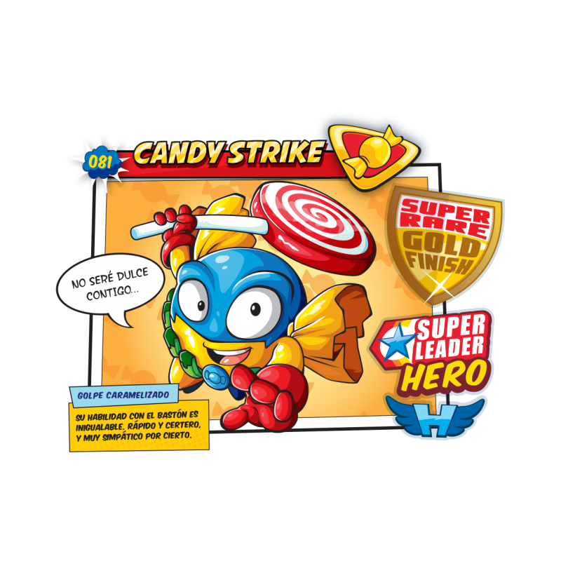 Figura SuperZings - CANDY STRIKE