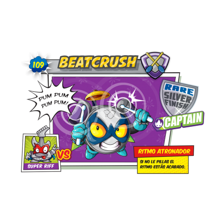 Beat Crush SuperZings Figura - BATERIA