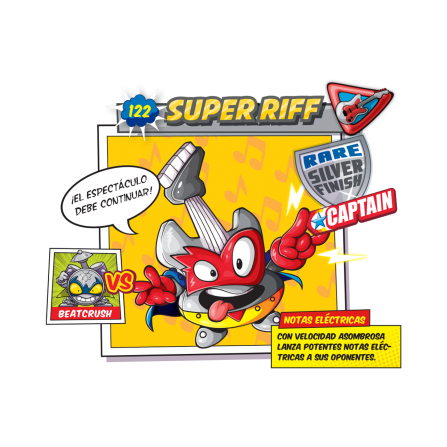 Super Riff SuperZings Figura - GUITARRA