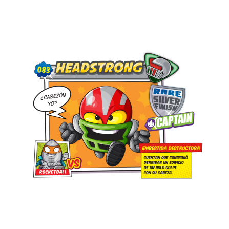 HeadStrong SuperZings Figura