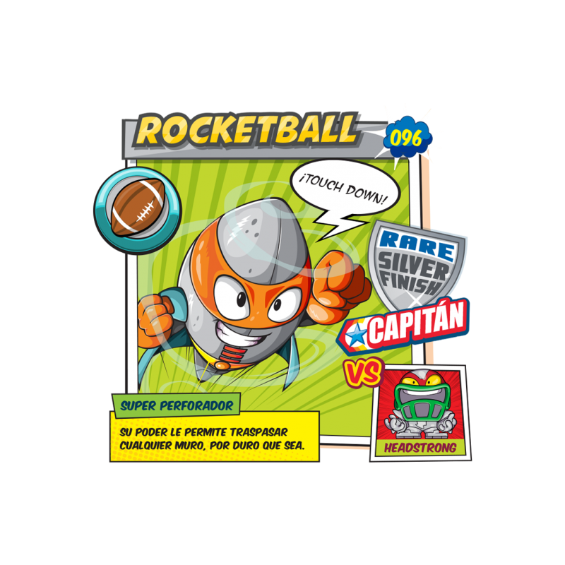 Figura SuperZings - Rocketball