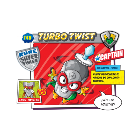 Figura SuperZings - Turbo Twist