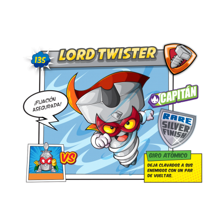 Figura SuperZings - Lord Twister