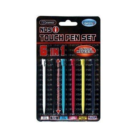 Lapices varios colores DSi / DSi XL ( Pack 6 unidades )