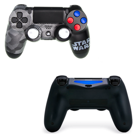 Mando PS4 Personalizado - Star Wars