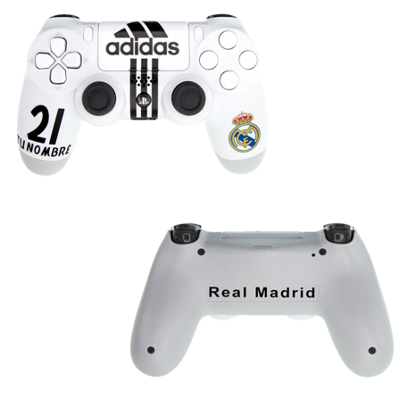 Mando PS4 Personalizado - Real Madrid