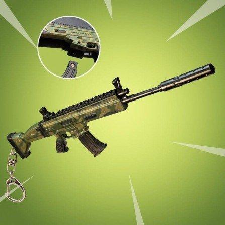 Arma replica FORTNITE - RIFLE ASALTO CAMO SCAR