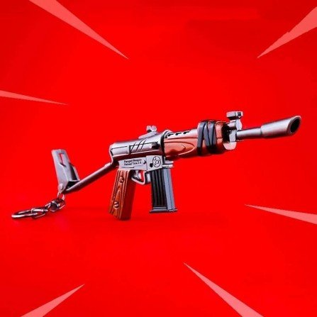 Llavero FORTNITE - RIFLE ASALTO BURST