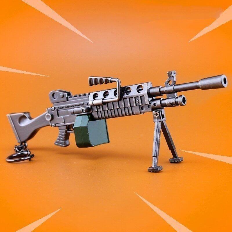 Arma replica FORTNITE - LIGTH MACHINE