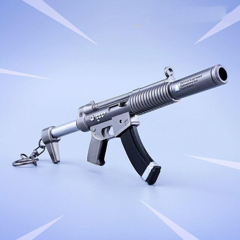 Arma replica FORTNITE - SUPPERESSED SUBMACHUNE