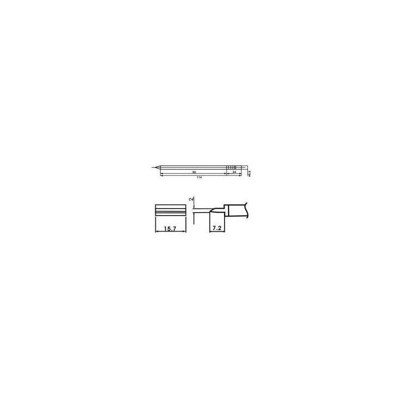 Cartucho soldador punta PALETILLA AOYUE ( WQ-1401 )