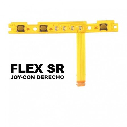 Flex mando Joy Con Switch - Boton SR + LEDs