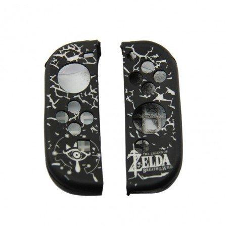 Funda protectora silicona Nintendo Switch - ZELDA BLANCO