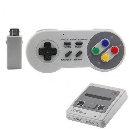 Mando SNES Turbo - INALAMBRICO
