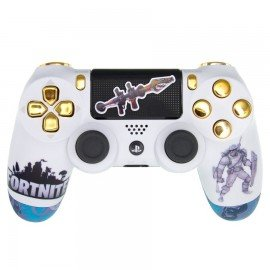 Mando PS4 Personalizado FORTNITE - GOLD KYLE