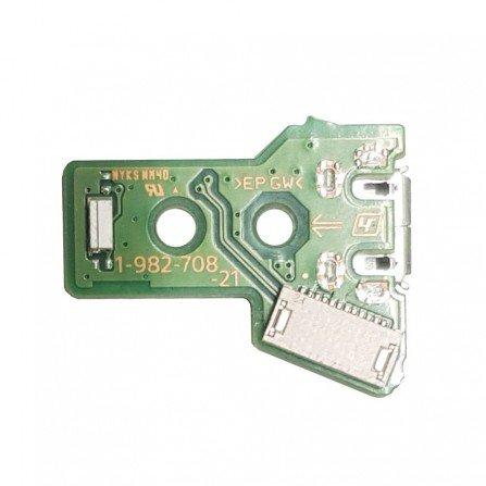 Placa carga + conector USB Mando Dualshock 4 PS4 JDS-050/ 055