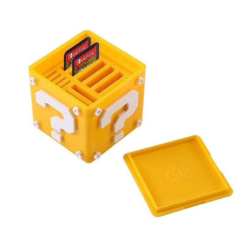 Estuche de juegos y Micro SD CUBO SUPER MARIO - NINTENDO SWITCH
