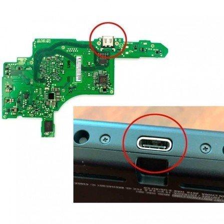 Conector carga USB Tipo C Nintendo Switch