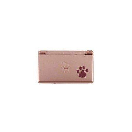 Carcasa DSlite PlayerGame - Rosa metalizado Perrito - MAX CALIDAD