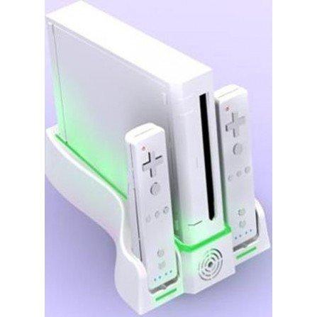 Base de carga mando Wii + Stand Multifuncional