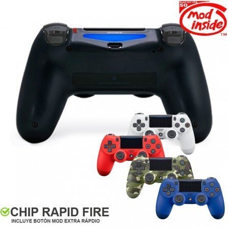 Mando PS4 Competitivo Rapid fire TURBO