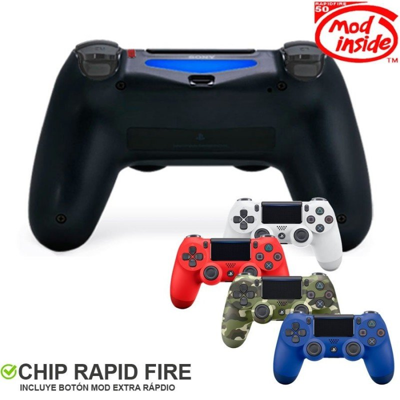 Mando Dualshock 4 competitivo TURBO  (Rapid fire)
