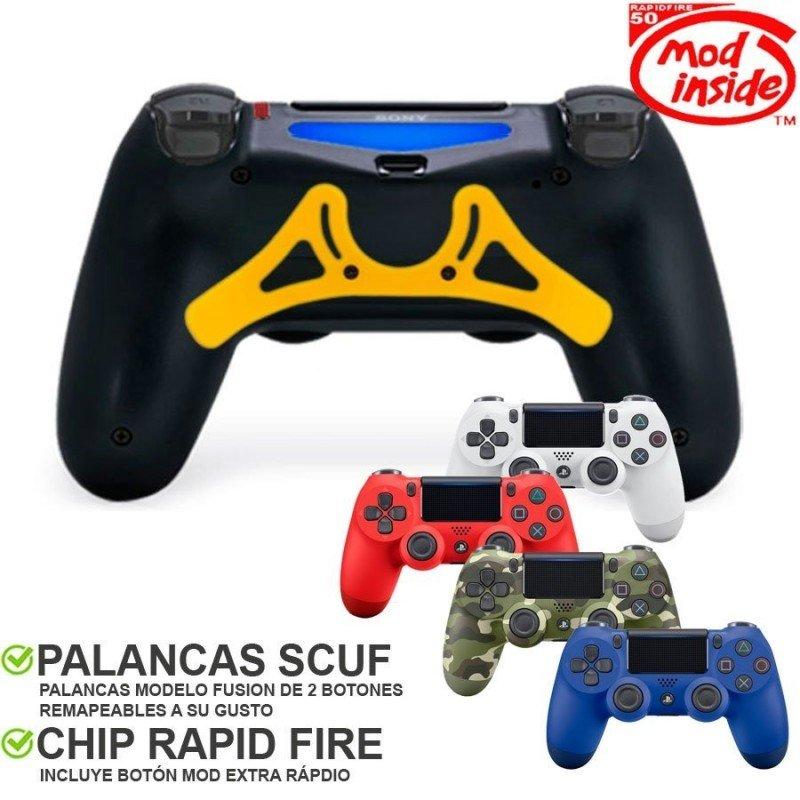 Mando Dualshock 4 competitivo HIBRIDO - FUSION