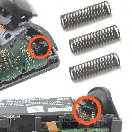 Muelle de los botones ZR, ZR, LR - JOY CON Nintendo Switch