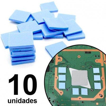 Almohadillas térmicas 1x1cm - 10 UNIDADES