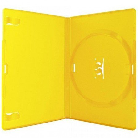 Estuche DVD Amarillo