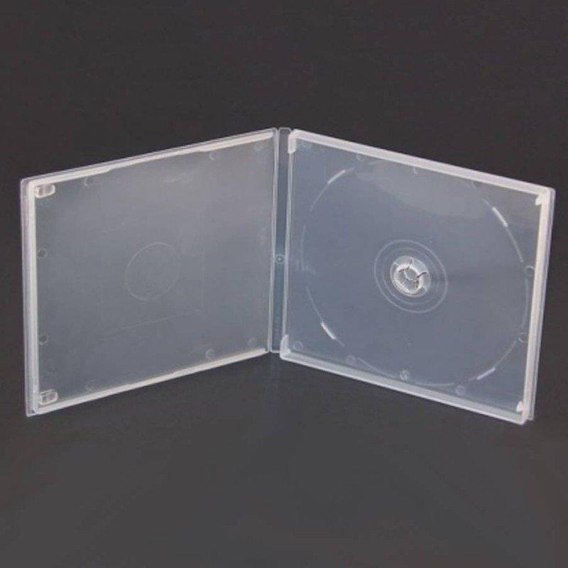 Estuche mini DVD transparente