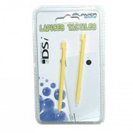 Lapices Pack 2 unidades DSi / DSi XL / 3DS XL / 2DS - AMARILLO