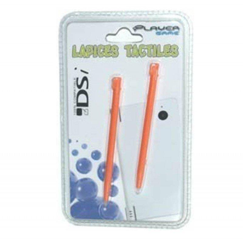 Lapices DSi / DSi XL Pack 2 unidades ( Naranja )