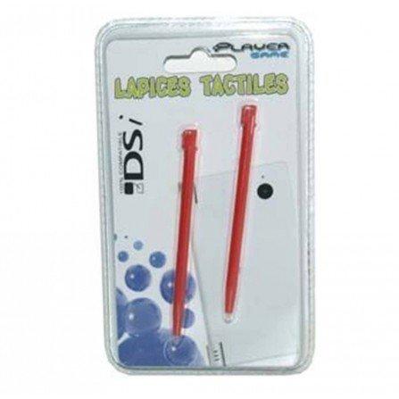 Lapices Pack 2 unidades DSi / DSi XL / 3DS XL / 2DS - ROJO