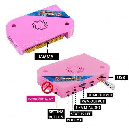 Pandora BOX 6 1300 juegos (Ampliable USB) + Cableado Jamma