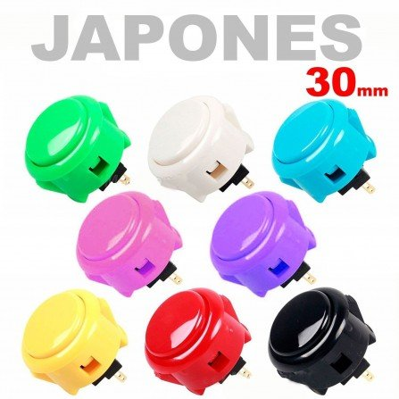 Boton Arcade  JAPONES 30mm