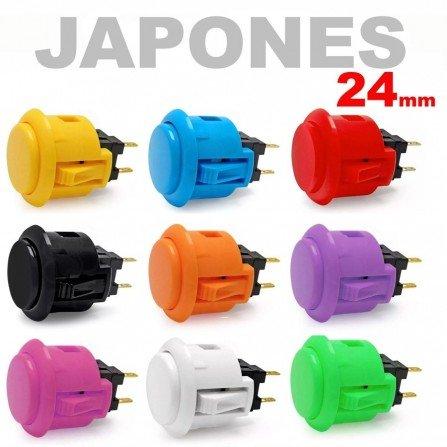 Boton Arcade JAPONES 24mm