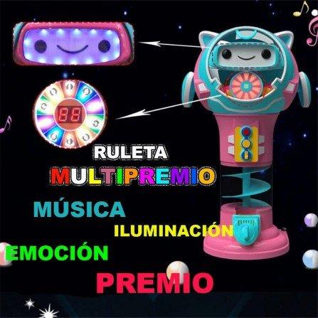 Maquina vending de bolas Multipremio - ELECTRO ROBOT