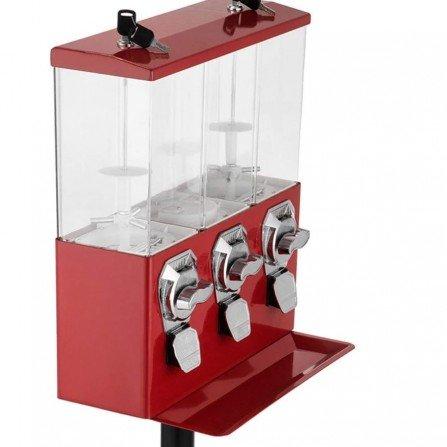 Maquina expendedora con pie - TRIPLE