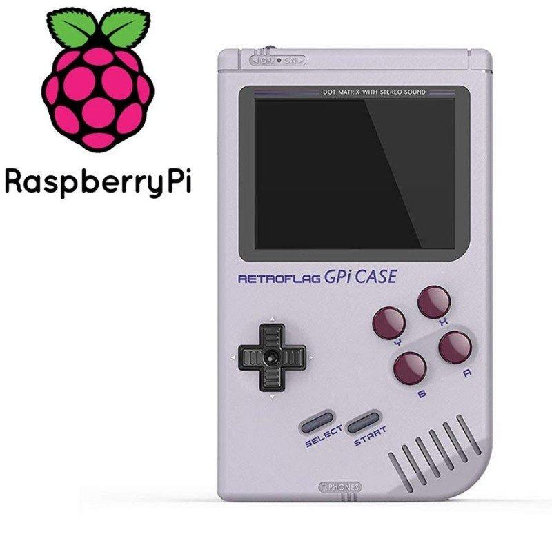 Retroflag carcasa GameBoy GPi - Raspberry