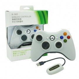 Mando Inalambrico XBOX360 y PC Compatible - BLANCO