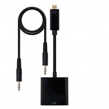 Conversor de MICRO HDMI a VGA 1080p