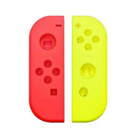 Carcasa mando Joy Con Nintendo Switch - AMARILLO / ROJO