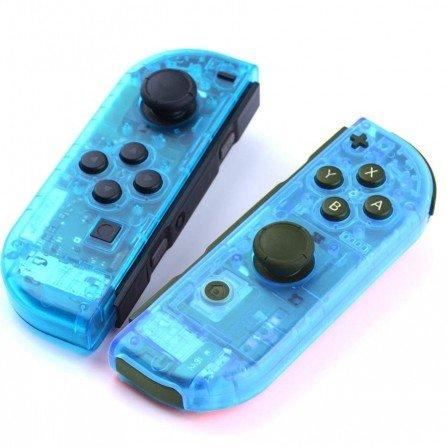 Carcasa mando Joy Con Nintendo Switch - CRISTAL AZUL