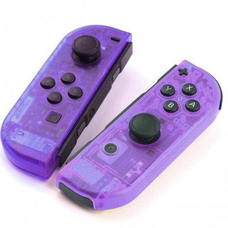 Carcasa mando Joy Con Nintendo Switch - CRISTAL MORADO